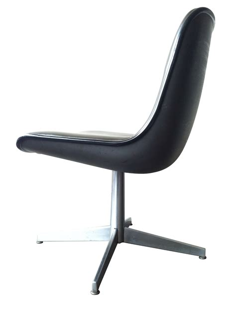 Pedestal Chairs vintage mod leather pedestal chair omero home