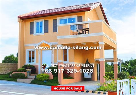 camella silang house and lot near tagaytay city camella silang tagaytay carmina house and lot for sale in