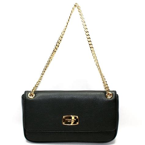 Small Leather Chain Bag michael kors jet set chain genuine leather small flap