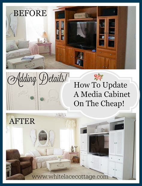 how to update kitchen cabinets cheap white lace cottage is one of our favorite bloggers