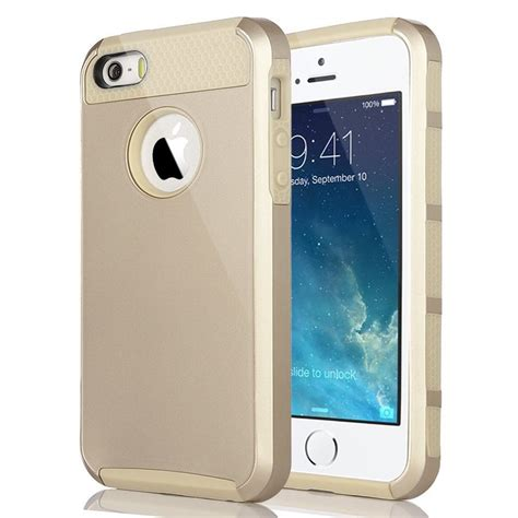 Slim Rubber Iphone 5 5s Se for iphone 5 5s se cover silicone rubber hybrid