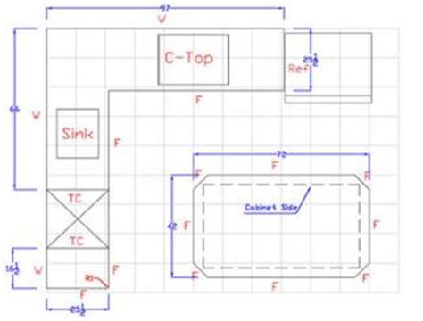 kitchen worktop template how to template a kitchen countertop free apps