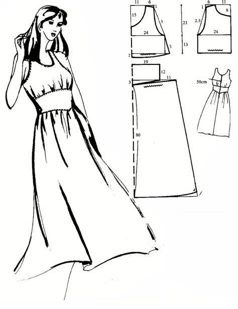 kroj za haljinu kroj za haljinu besplatni krojevi za šivenje šivanje krojenje
