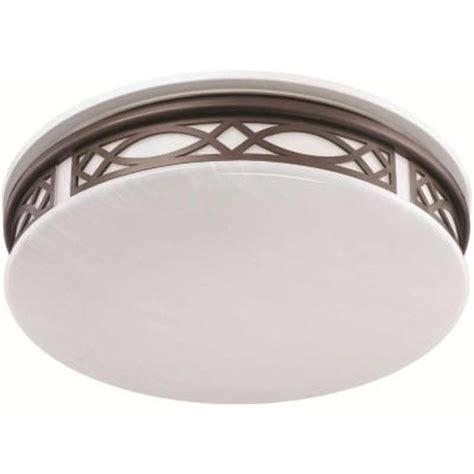 Indoor Home Lighting Fixtures Sylvania 3 Light Flush Mount Ceiling Bronze Led Indoor