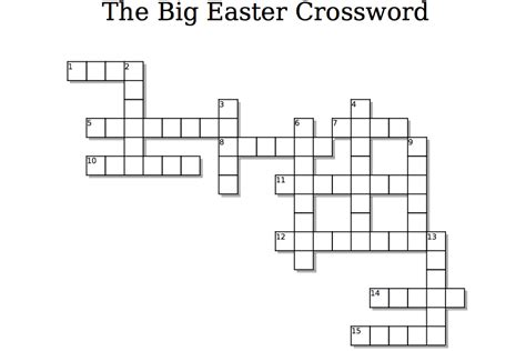 free easter crossword puzzle children s ministry deals
