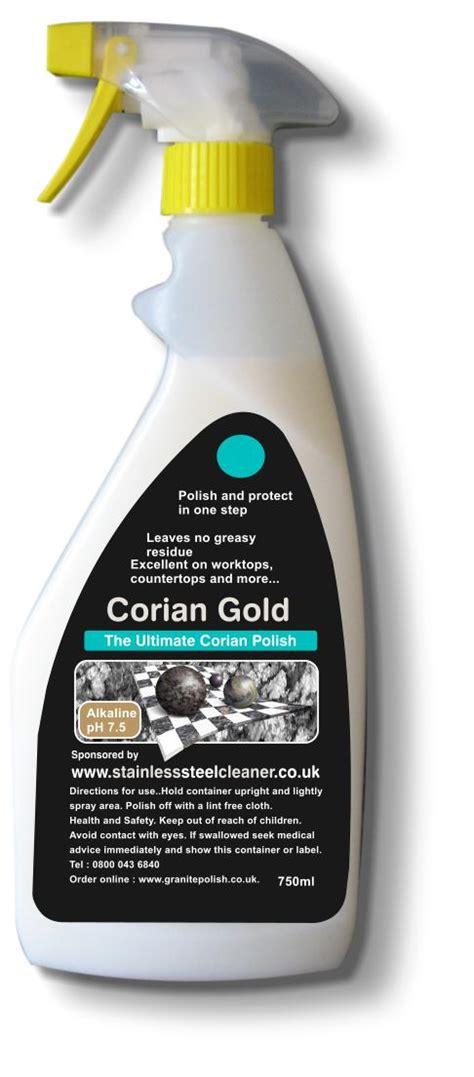 Corian Polishing corian cleaner and corian