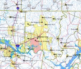image gallery huntsville map