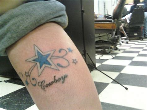 dallas cowboys star tattoo design dallas cowboys tattoos
