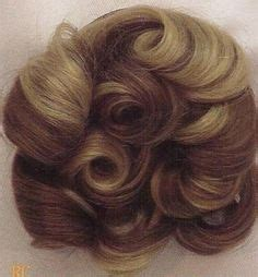 thin hair pull through wigltes details about short wavy curly pull through wiglet hair