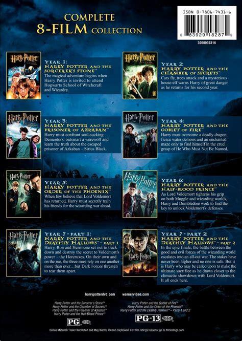 preguntas y respuestas de harry potter y la piedra filosofal harry potter la colecci 243 n completa en dvd 2 500 00 en