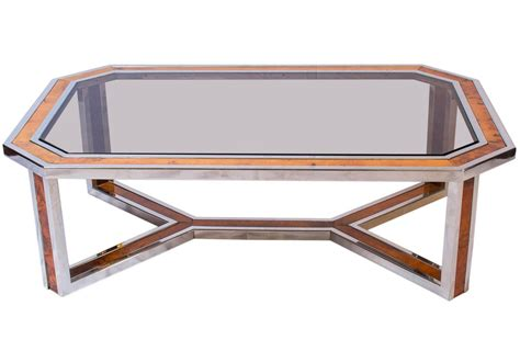 Wood And Chrome Coffee Table Chrome And Wood Coffee Table Furniture Roy Home Design