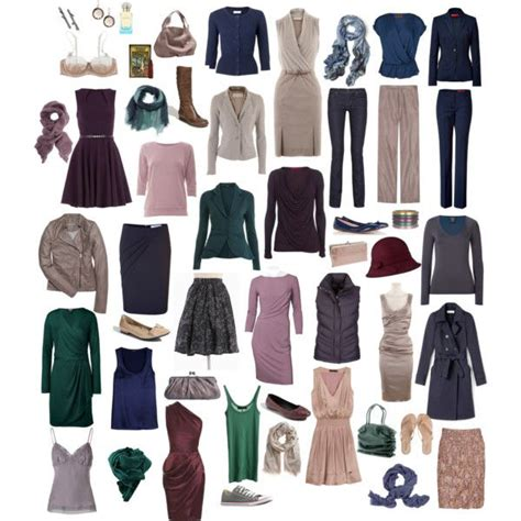 soft summer color palette wardrobe capsule created by