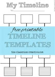 free printable timeline templates free printable timeline template and activity inspired by