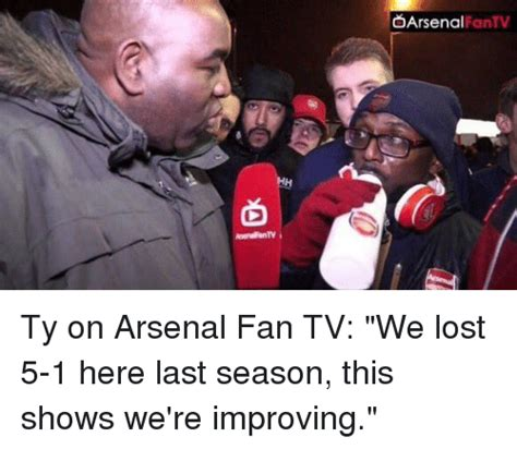 arsenal fan tv d arsenal ifantv ty on arsenal fan tv we lost 5 1 here