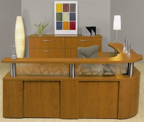 Front Office Desks Taya Reception Desk Woodworking Plans