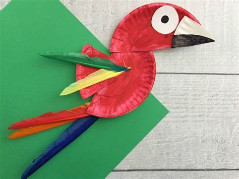 Paper Plate Bird Craft - 17 best ideas about toucan craft on parrot
