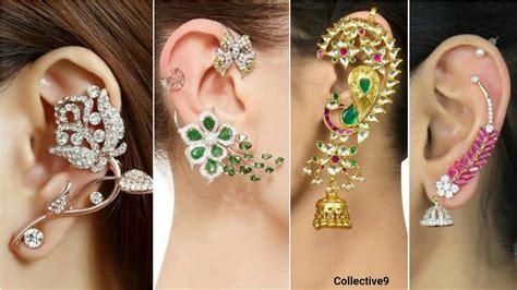 top beautiful earrings designer earrings unique and ear cuff earrings designs