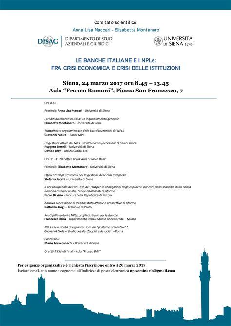 crisi banche italiane le banche italiane e i npls fra crisi economica e crisi