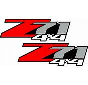 Z85 Chevy Decal Sticker Parts For Silverado Or GMC Sierra Truck