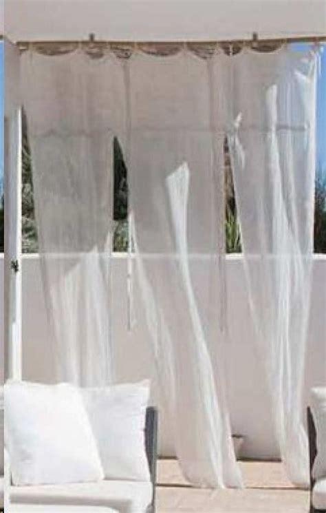 cortinas para terraza cortinas terraza 4 decorar tu casa es facilisimo