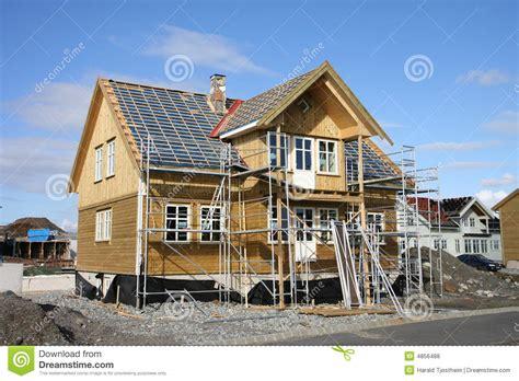 Huis In Aanbouw by Huis In Aanbouw Royalty Vrije Stock Foto S Afbeelding