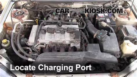 automotive air conditioning repair 1998 mazda millenia transmission control how to add refrigerant to a 1999 2003 mazda protege 2002 mazda protege es 2 0l 4 cyl