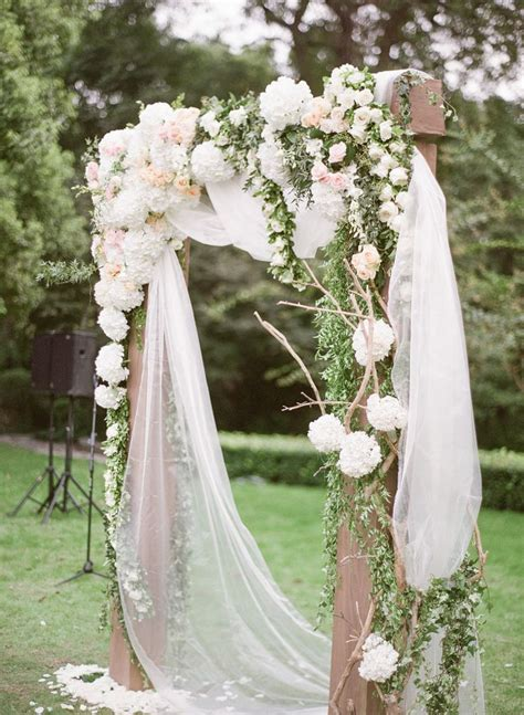 Wedding Ceremony Arbor by 30 Best Floral Wedding Altars Arches Decorating Ideas