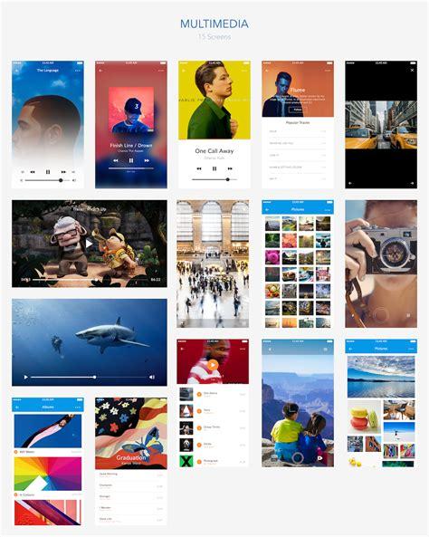 themeforest ui kit carioca premium ios ui kit by lsdesignwork themeforest