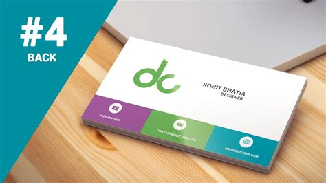 how to make business cards on photoshop cs6 4 how to design business cards in photoshop cs6 flat