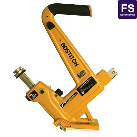 bostitch 16 gauge manual hardwood flooring nailer mfn 201 the home depot