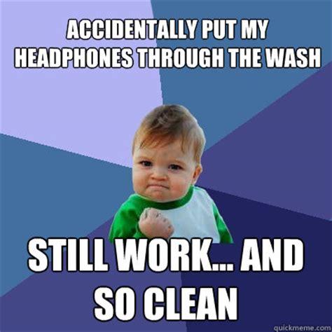 Baby Headphones Meme - success kid memes quickmeme