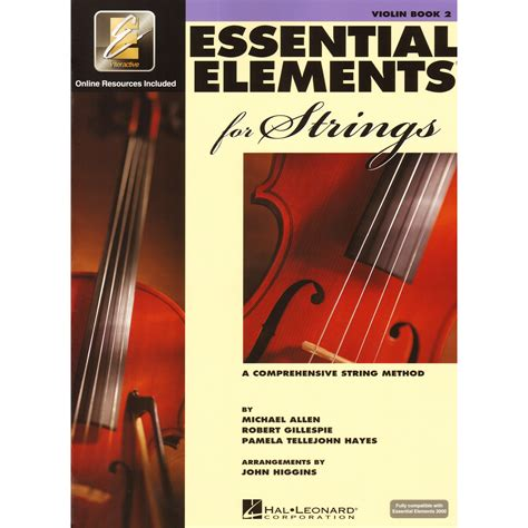 String Books - essential elements 2000 for strings book 2 violin