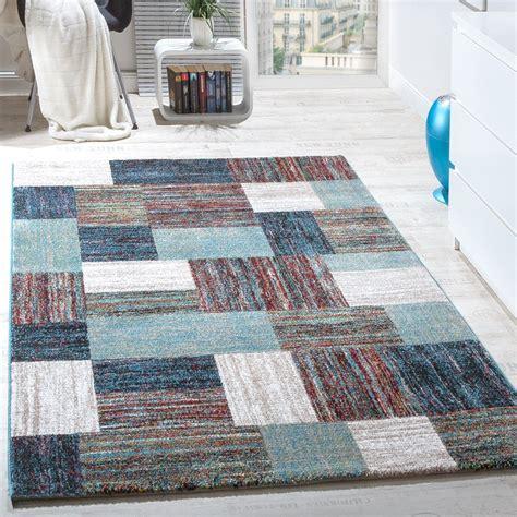 teppiche modern teppiche modern wohnzimmer teppich spezial melierung karo