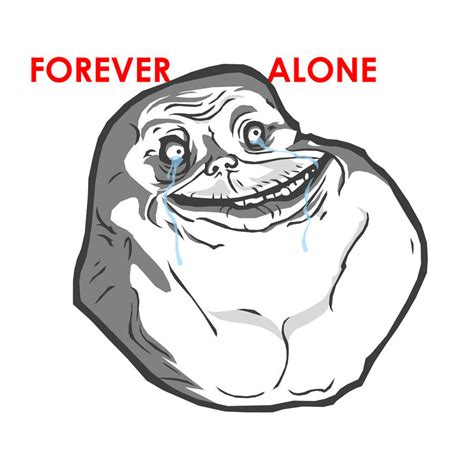Forever Alone Meme Face - forever alone by projectendo d2z3pbc jpg