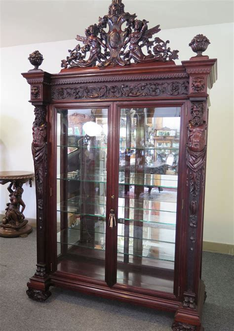 Rj Cabinets by Top Of The Line Mahogany Rj Horner Atlas China Cabinet