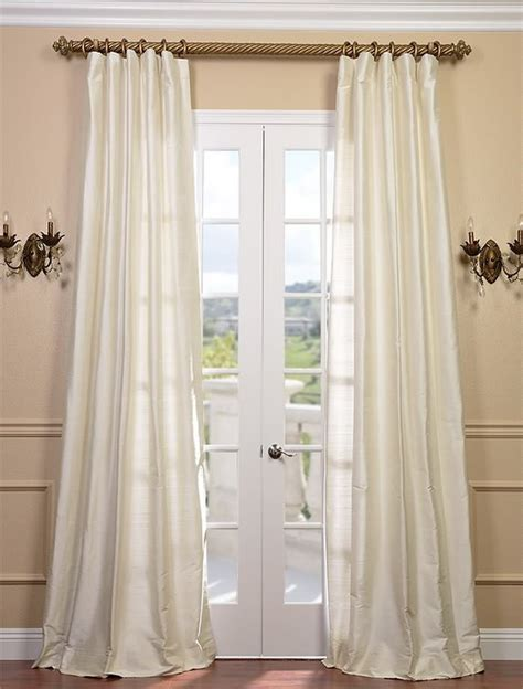 dupioni drapes pearl textured dupioni silk curtain drapes pinterest