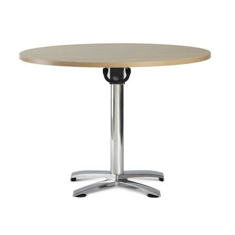 circular tilt top folding meeting conference table