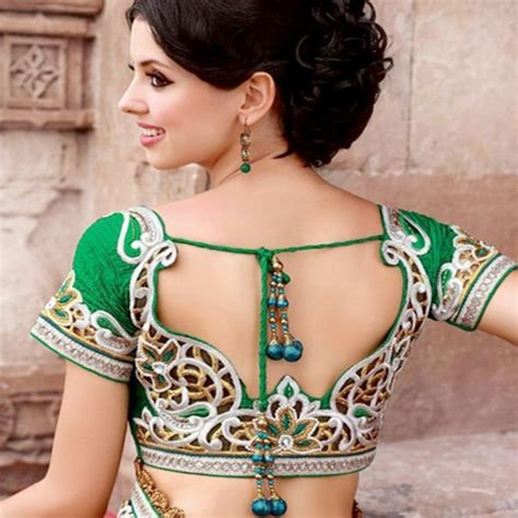 best blouse designs backless blouse designs