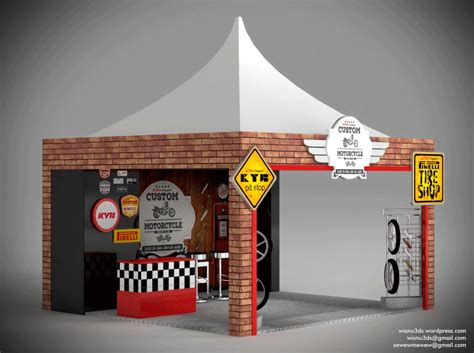 Tenda Booth design mini booth 3 215 3 aop grazer desainterpertjaja