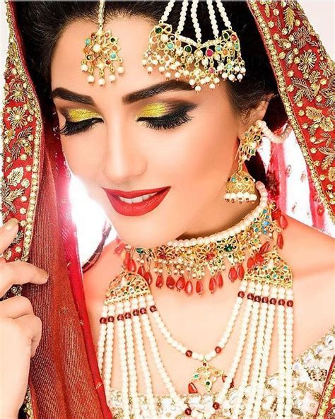17 Best ideas about Dulhan Makeup on Pinterest   Pakistani