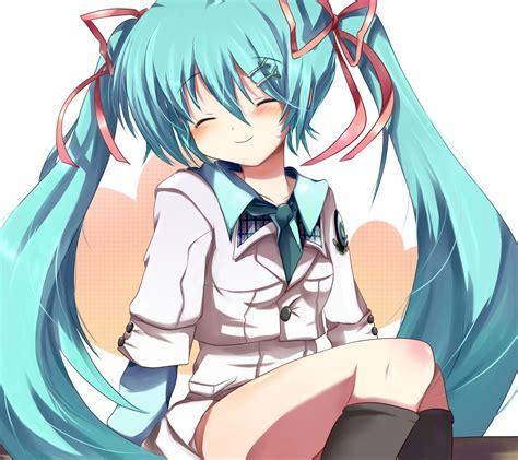 Kaos Hatsune Miku Vocaloid Blue Anime Best Selling Premium vocaloid hatsune wallpaper 1800x1600 wallpoper