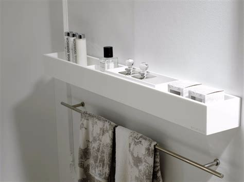 k krion 174 bathroom wall shelf by systempool