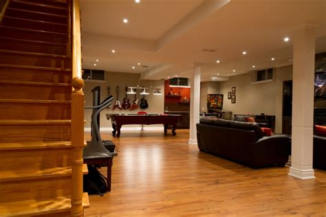 basement remodeling ideas casual cottage - Portland Basement Remodel