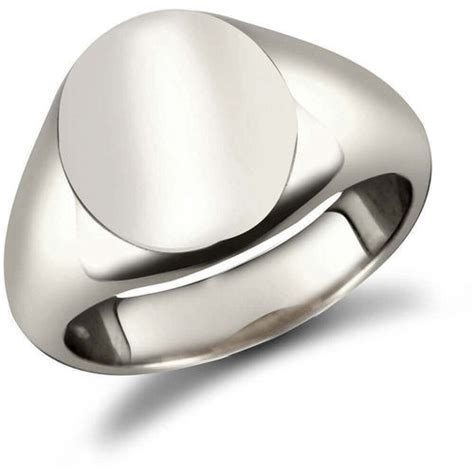 silver signet ring mens sterling silver signet rings