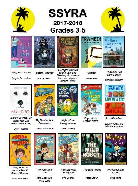 a state books state readers award grades 3 5 media