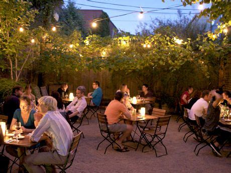 Outdoor Garden Nyc by Best Outdoor Dining And In Nyc Restaurant Decor Carroll O