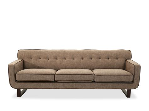 tweed settee boulevard chatham tweed sofa mathis brothers furniture