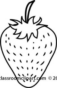Strawberry Outline Drawing by The Gallery For Gt Strawberry Clipart Black And White