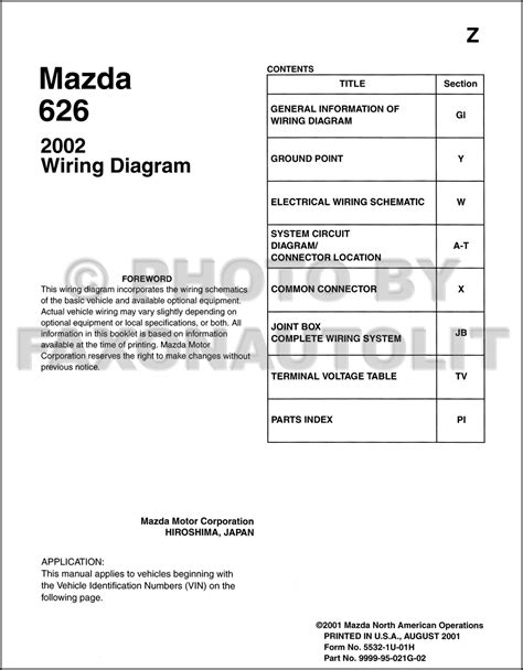 car maintenance manuals 2002 mazda 626 user handbook mazda 626 wiring diagram service manual efcaviation com