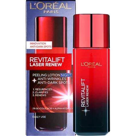 Loreal Revitalift l oreal revitalift laser renew peeling lotion 125ml free shipping lookfantastic